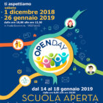 OpenDay d'Istituto – 1 dicembre 2018